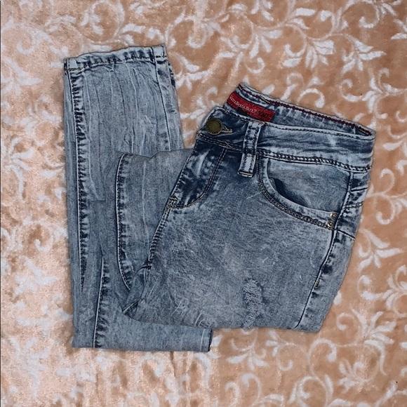 YMI Big Girls Floral Printed Skinny Pant